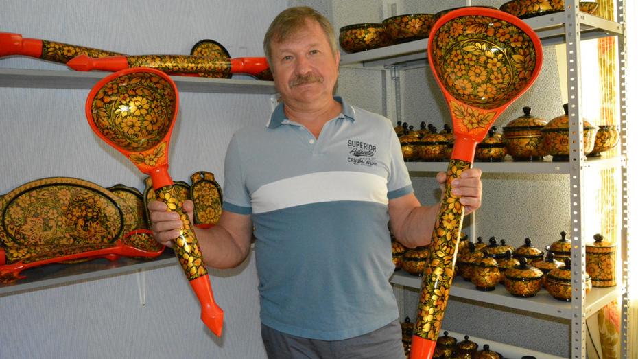 Житель Воронежской области поделился опытом сохранения народного промысла