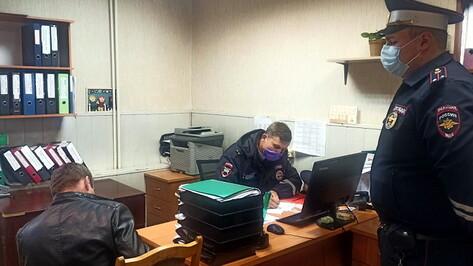 Водитель маршрутки без прав стал фигурантом уголовного дела в Воронеже