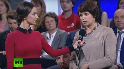 Авдотья Смирнова в беседе с Путиным похвалила Воронеж за работу с детьми-аутистами