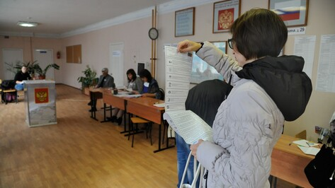 К 18:00 на выборах в Воронежской области проголосовали 43,71% избирателей