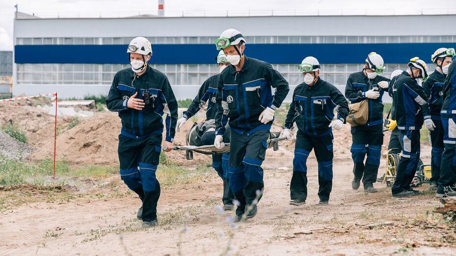 На Нововоронежской АЭС прошла масштабная противоаварийная противопожарная тренировка