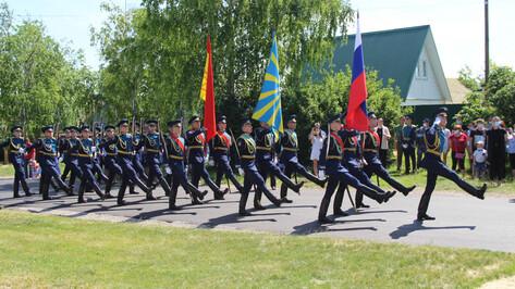 Под Воронежем захоронили останки летчика Вениамина Слабковского
