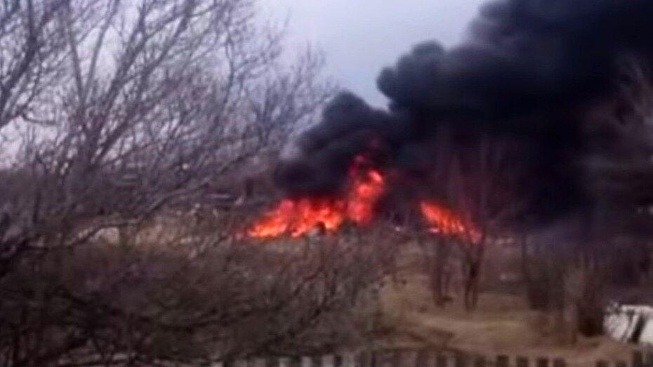 В Приморье разбился самолет Су-25