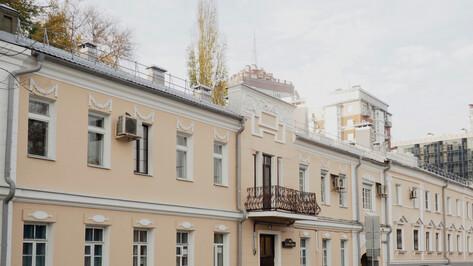 В Воронеже отремонтировали 14 домов-памятников