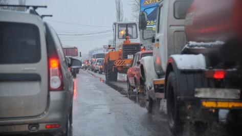 На улице Димитрова в Воронеже в аварию попали 4 автомобиля