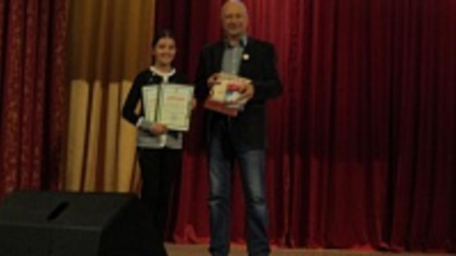Терновская школьница заняла первое место на областной краеведческой конференции