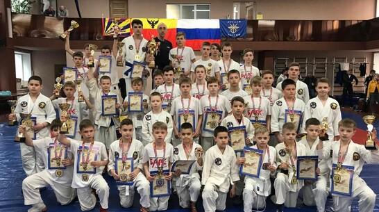 Борисоглебские рукопашники завоевали 13 золотых медалей межрегионального турнира