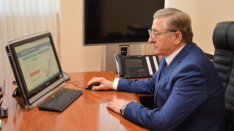 Сенатор от Воронежской облдумы поучаствовал в предварительном голосовании «Единой России»