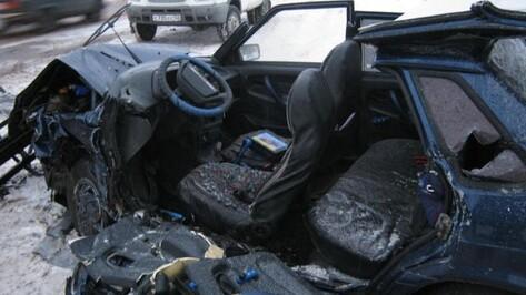 Один человек погиб и двое ранены в ДТП под Воронежем