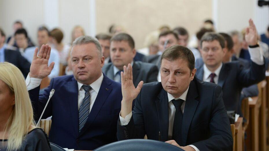 Единороссы возглавили 10 из 11 комиссий Воронежской гордумы