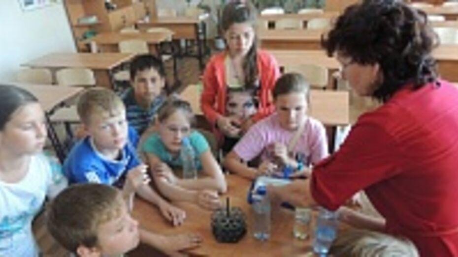 В Бобровской СОШ № 2 открылась «Лесная школа»