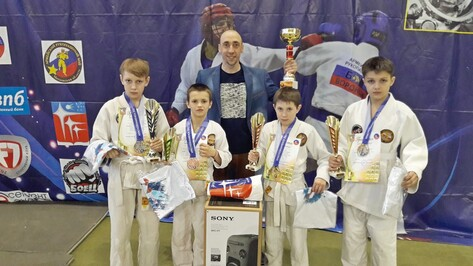 Борисоглебские рукопашники завоевали «бронзу» всероссийского турнира