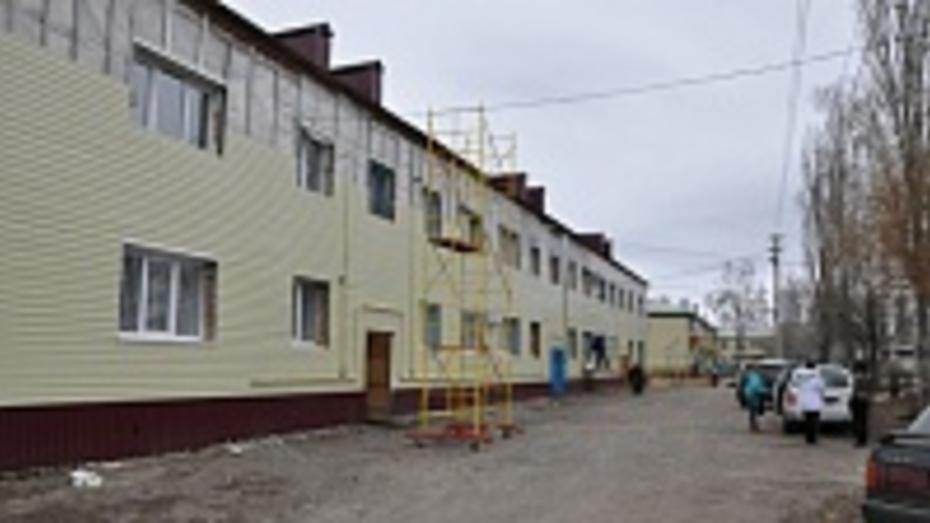 В Эртиле капитально отремонтировали два многоквартирных дома