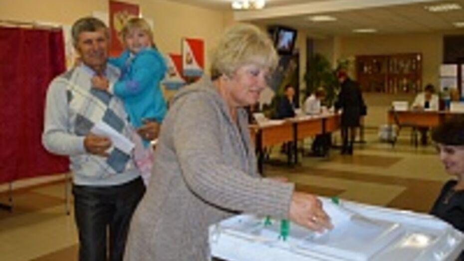В Подгоренском районе на выборах губернатора Воронежской области проголосовали 83,31 процента