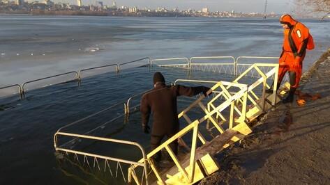 В Воронеже количество мест для купания в крещенскую ночь сократили до 5