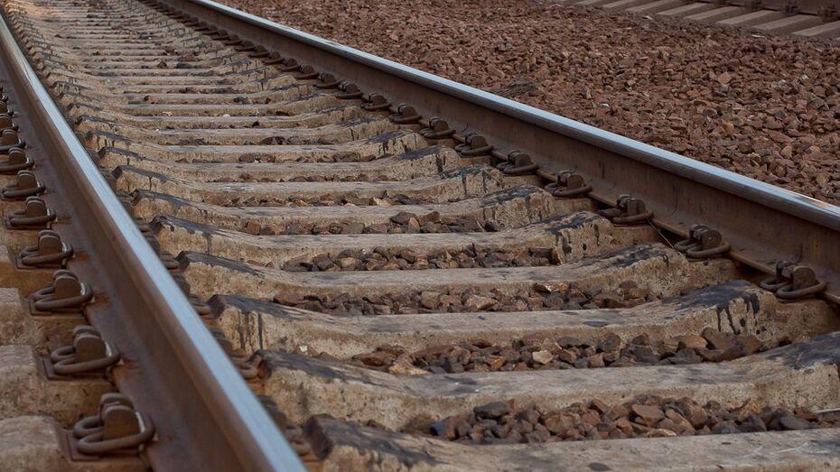 В Воронежской области четыре вагона товарного состава сошли с рельсов