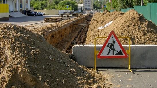В Лисках обновили теплотрассу в западной части города