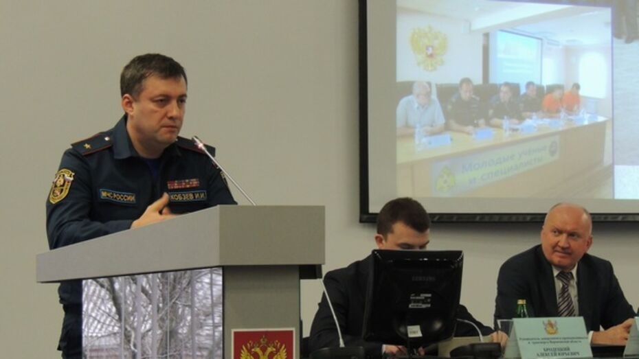 В Воронеже спасатели будут ездить на пожары на мотоциклах