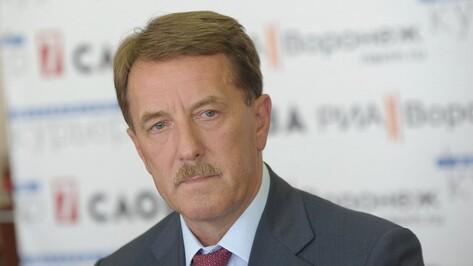 Воронежский губернатор вернулся в ТОП-5 медиарейтинга глав регионов ЦФО