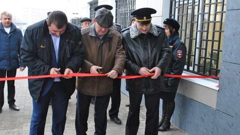 В Лисках открыли новый комплекс зданий отдела полиции
