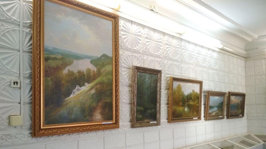 Павловчан пригласили на выставку картин бутурлиновского художника Дмитрия Меняйленко