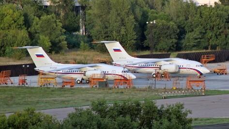 В Воронеже начались летные испытания 14-го самолета Ан-148 для Минобороны