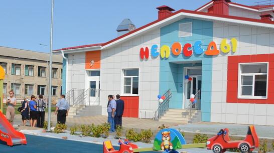 В Эртиле построили двухэтажный детский сад на 60 мест с лифтом