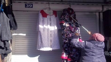 В Воронеже ликвидируют незаконный рынок на улице Димитрова