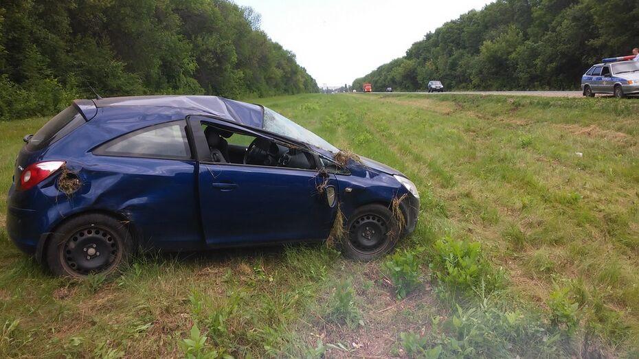 В Таловском районе в ДТП пострадала 27-летняя автоледи