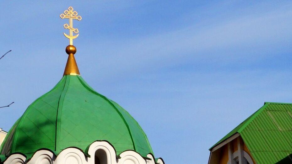 Воронежец устроил в храме погром на 100 тыс рублей