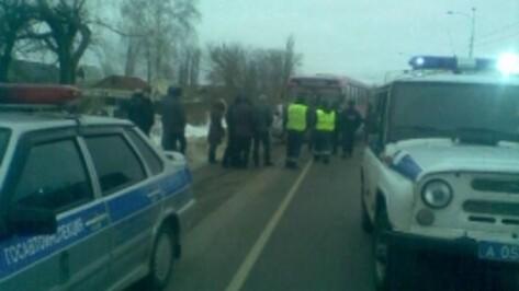 Воронежский водитель погиб в ДТП с автобусом под Курском