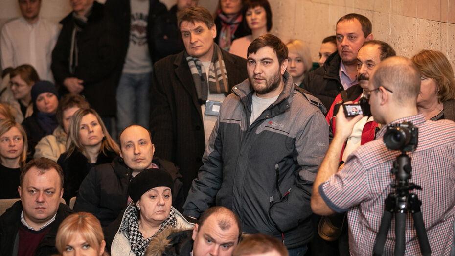 Воронежцы выступили за строительство социального узла на месте яблоневых садов