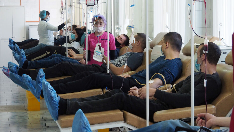 Около 7 тыс воронежцев стали донорами крови в I квартале 2021 года