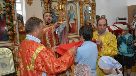 Центральному храму Богучарского церковного округа исполнилось 110 лет