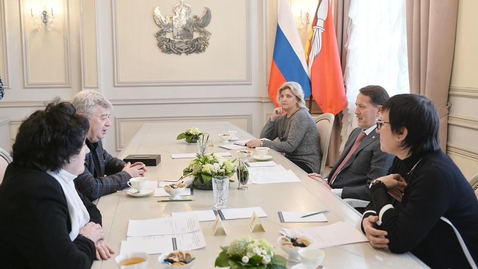 Председатель СЖР Всеволод Богданов пригласил воронежские СМИ на конгресс