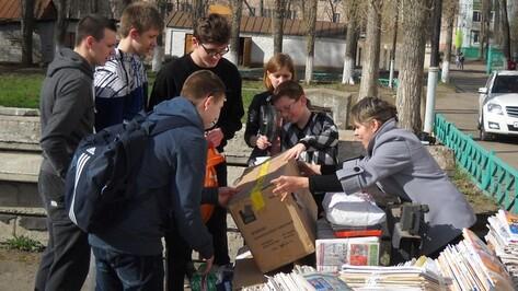 Пятиклассник из Семилук собрал почти полтонны макулатуры