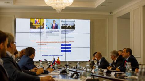 Депутаты Воронежской областной Думы обсудили меры поддержки бизнеса во время пандемии
