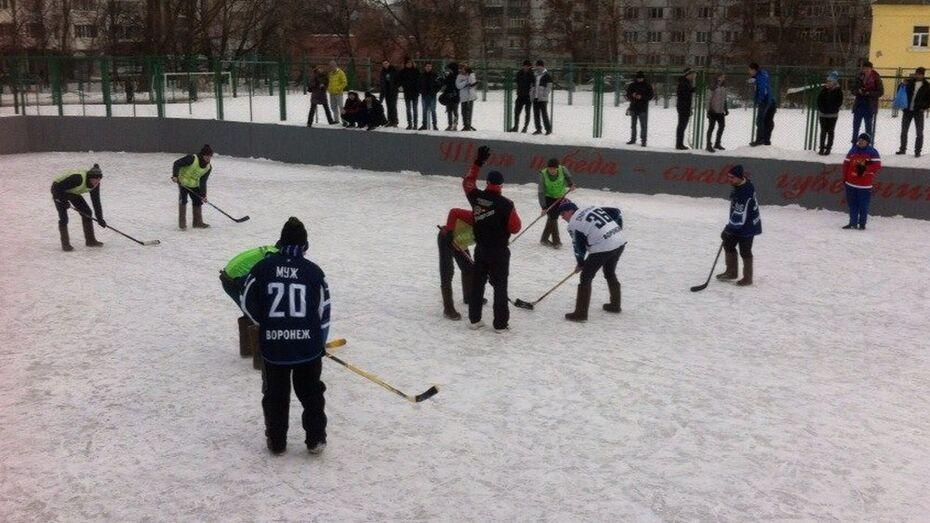Воронежцы стали вторыми на турнире по хоккею в валенках в Пензе