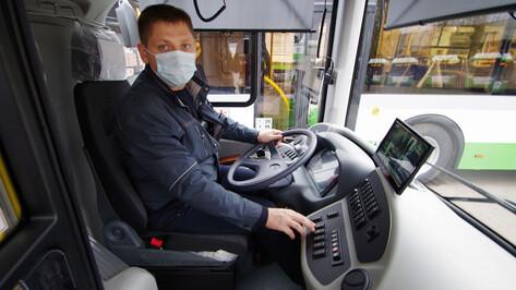На улицы Воронежа выехали 15 новых низкопольных автобусов