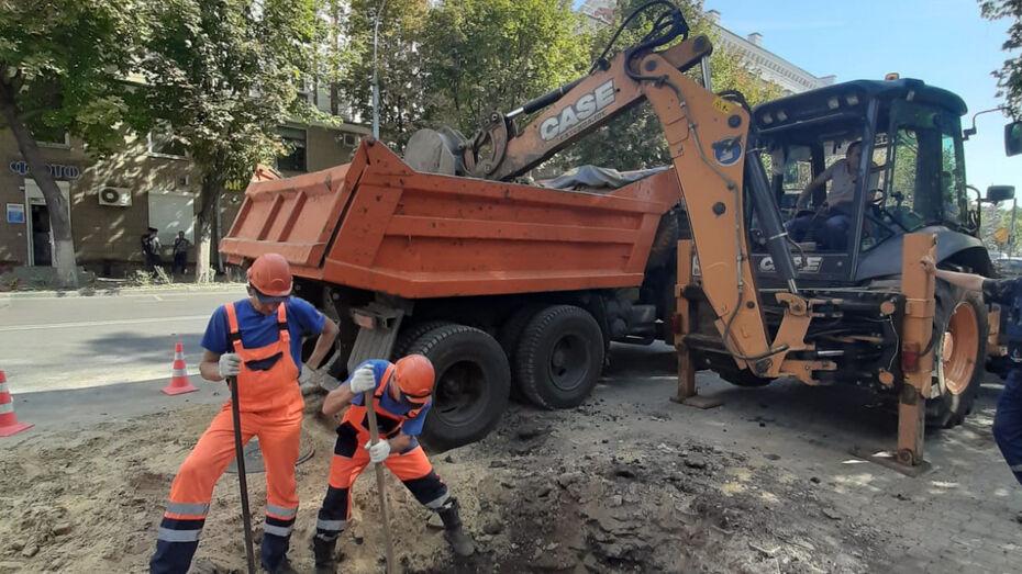 Воронежский парк «Орленок» подключили к новому водопроводу