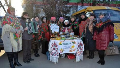 В Бутурлиновке прошла сельскохозяйственная ярмарка