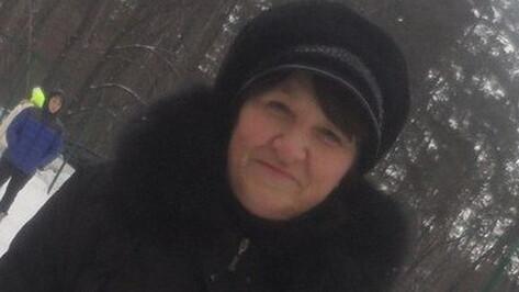 В Воронеже пропала 58-летняя женщина