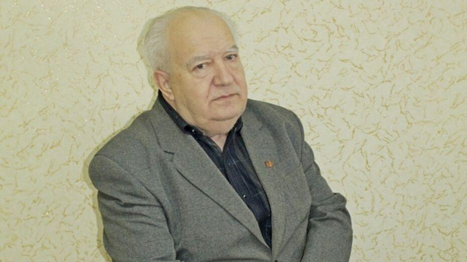 Новоусманский пенсионер запустил поэтический сайт