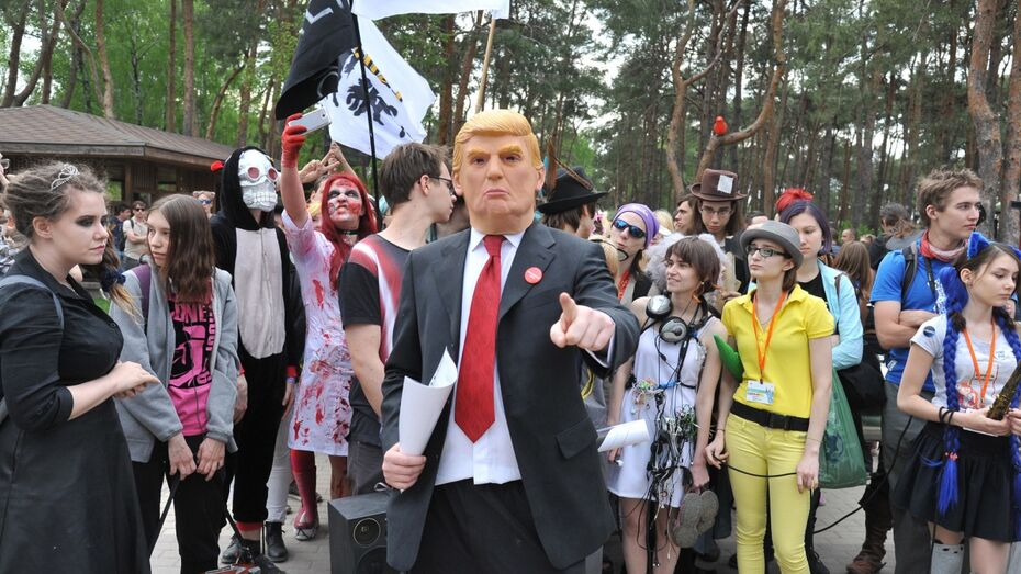 Раскольников, Трамп и Чубакка: самые яркие образы парада анимэ в Воронеже