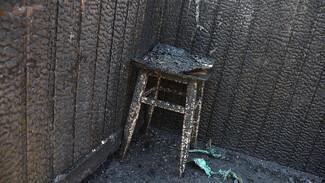 Три человека погибли в сгоревшем доме в воронежском селе