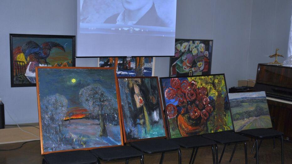 Лискинский музей получил в дар 4 картины Василия Шевченко