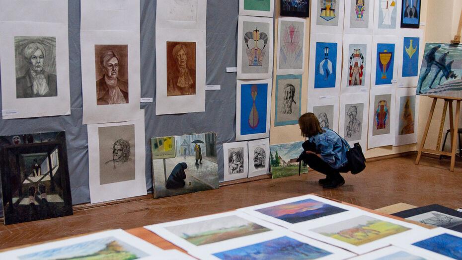 Воронежские студенты Михаила Шемякина показали работы для петербургской выставки