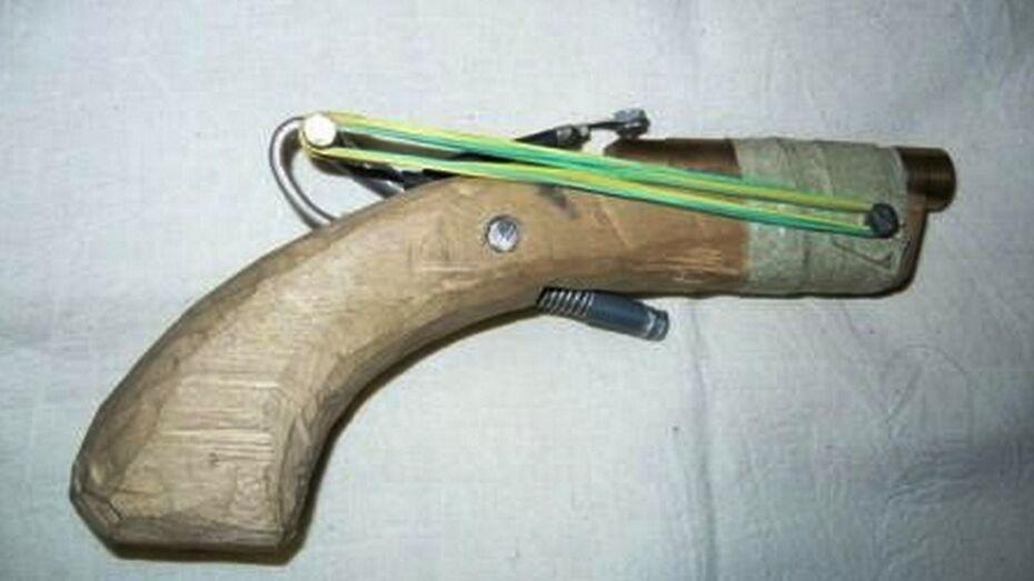 Безработный сделал пистолет под Воронежем