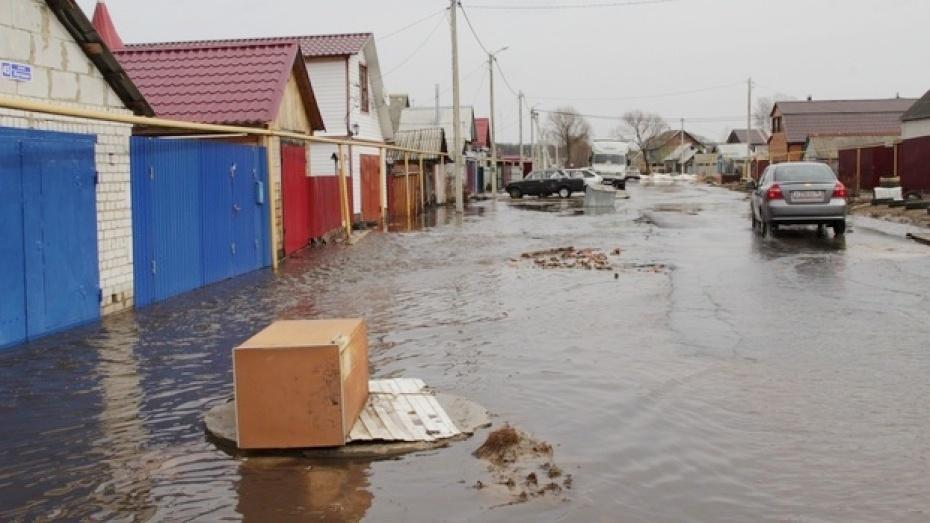 Власти Воронежа утвердили план мероприятий по борьбе с подтоплениями в 2018 году