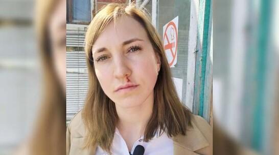 Представителю профсоюза медиков в больнице в Воронежской области расцарапали лицо